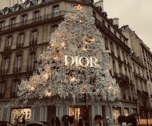 dior, christmas, and fashion image