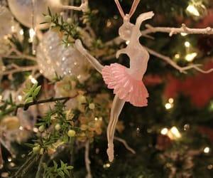 ballerina, ballet, and christmas image
