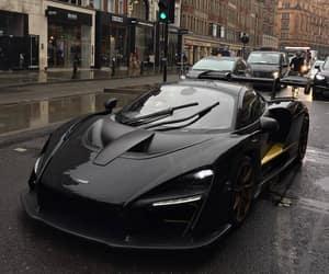 black, car, and ferrari image
