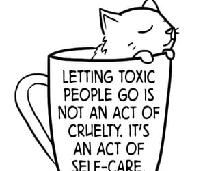 cat, quotes, and toxic image