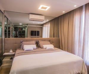 bedroom, mirror, and designe image