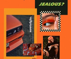 Collage, orange, and theme image