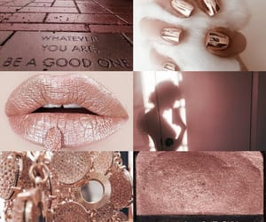 aesthetic, christmas, and rose gold image