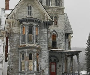 abandoned, house, and architecture image