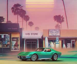 aesthetic and 80's image