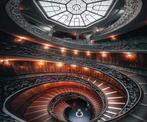 architecture, stairway, and staircase image