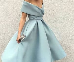blue homecoming dress, homecoming dress cheap, and homecoming dress 2018 image