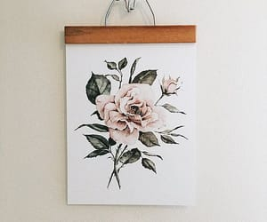art, flores, and wallpapers image