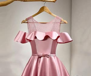 short prom dresses, pink homecoming dresses, and cute homecoming dresses image