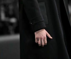 black, boy, and coat image