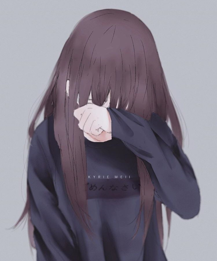 Anime Sad Girls - Gambar Anime Keren