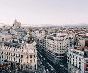city, spain, and photography image