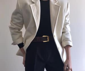 aesthetic, black, and blazer image