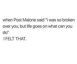 broken, life, and malone image