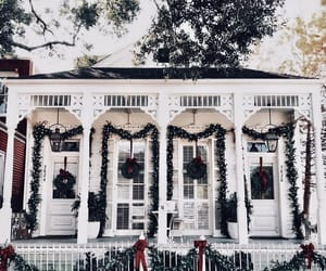 christmas, decorations, and garland image