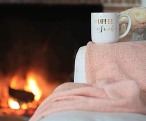 blankets, coffee, and cozy image