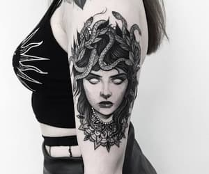 tattoo, art, and background image