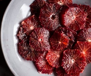 honey, compote, and blood orange compote image