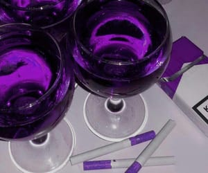 cigarettes and purple image