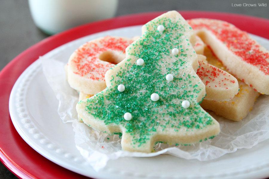 Sugar Sugar Christmas.Great Sugar Cookie Recipe On We Heart It