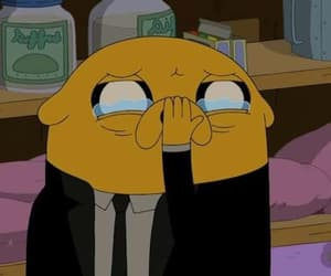 adventure time and crying image