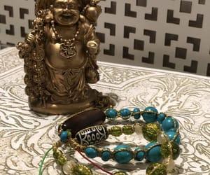bracelets, handmade, and stones image