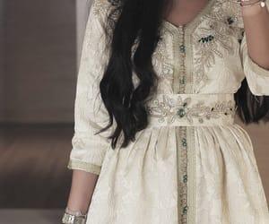 arab, dress, and girl image