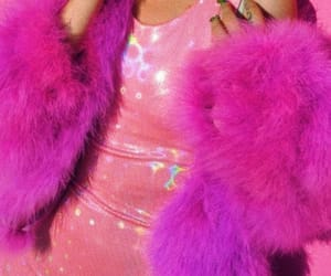 pink, aesthetic, and holographic image