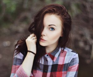 girl, pale, and autumn image