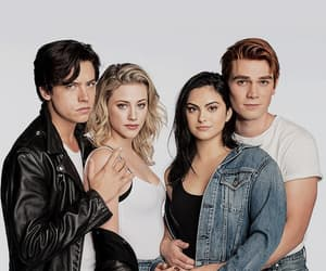 riverdale, cole sprouse, and camila mendes image