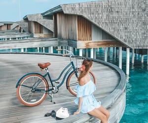 Maldives and travel image
