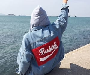 bubble, cool, and denim image