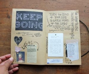 handwriting, journal, and journaling image