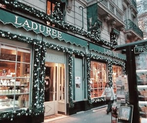 christmas, holidays, and laduree image