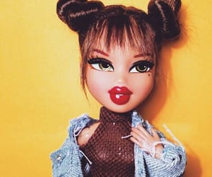 doll, bratz, and hair image