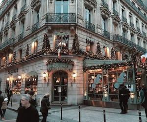christmas, places, and paris image