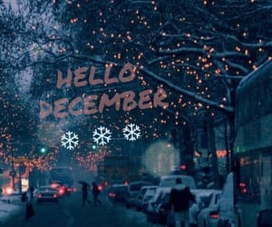 christmas, cold, and december image