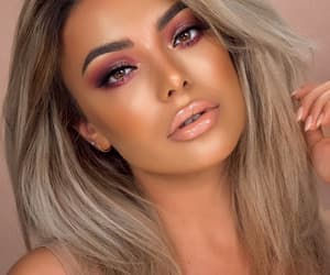 beuty, makeup, and women image