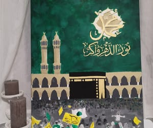 drawing, tableau, and mawlid image
