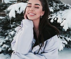 thalia bree, makeup, and snow image
