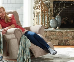 chair, back pain, and recliner chair image