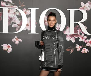 celebrity, dior, and bella hadid image