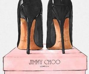 black, pink, and choo image