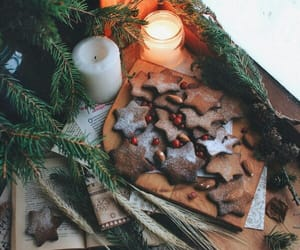 book, winterpictures, and candle image