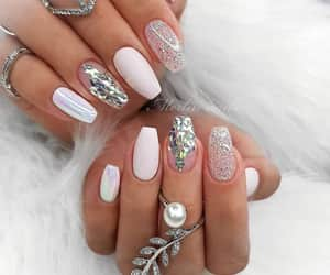 belleza, moda, and uñas image