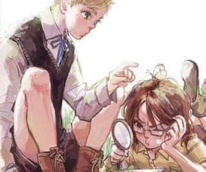 shingeki no kyojin, hanji zoé, and erwin smith image