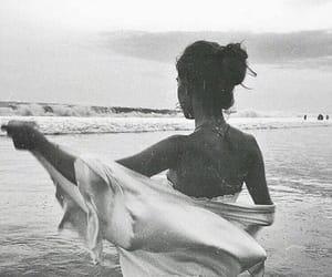 ocean, beach, and fashion image