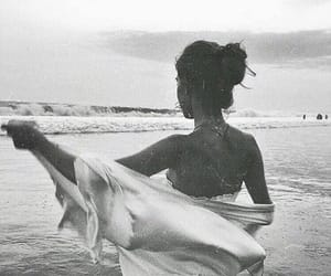 ocean, beach, and water image