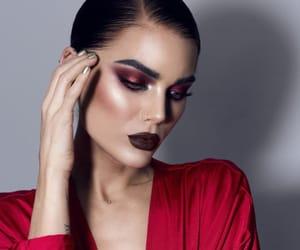 aesthetics, eyeshadow, and model image