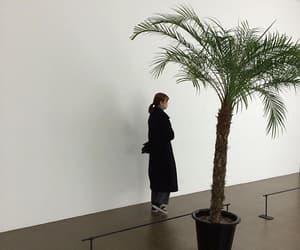 aesthetic, girl, and plants image
